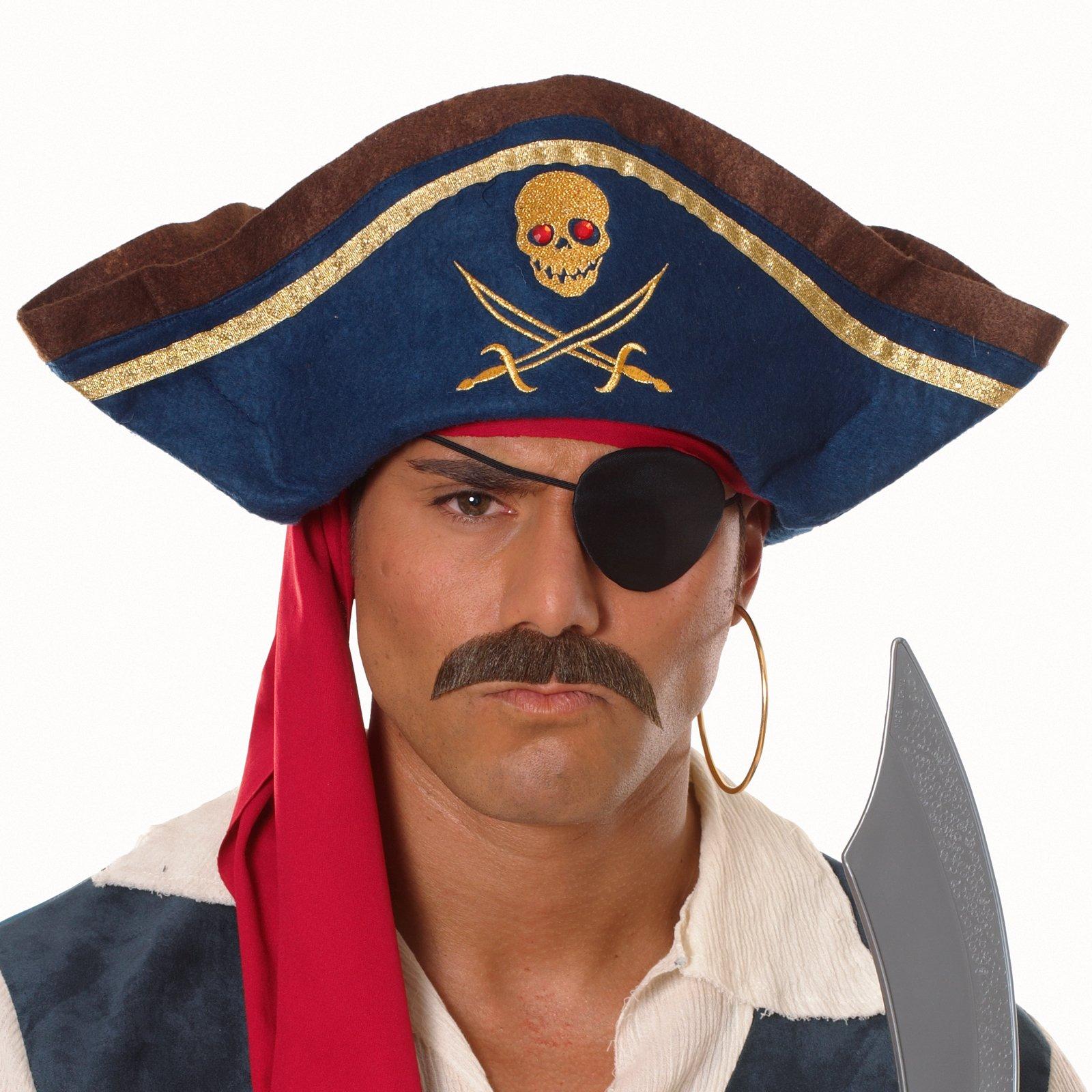 Треуголка пирата своими руками фото