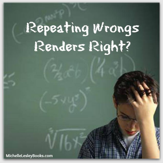 repeating wrongs