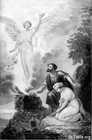 www-St-Takla-org--12-Angel-Visits-Manoah-and-His-Wife
