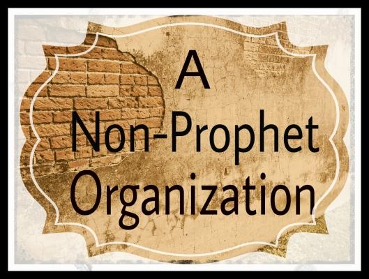 A Non-Prophet Organization