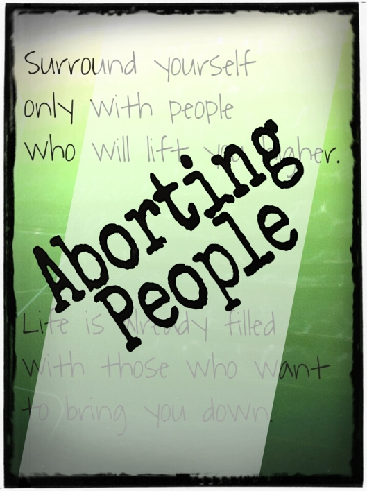 Aborting People