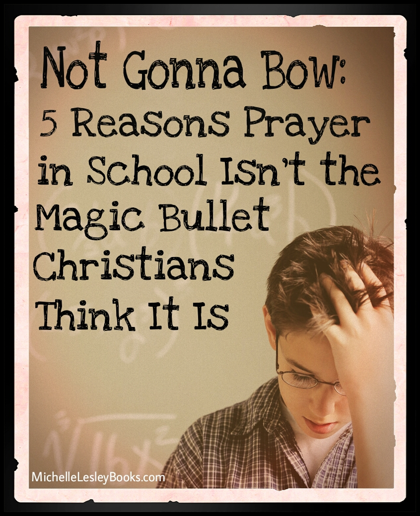 prayer in schools Freedom of expression is highly encouraged in our country people express themselves in different ways and it is accepted prayer is not allowed freely in schools this is ridiculous prayer.
