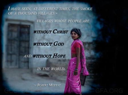Photo courtesy of Gospel For Asia ~ gfa.org