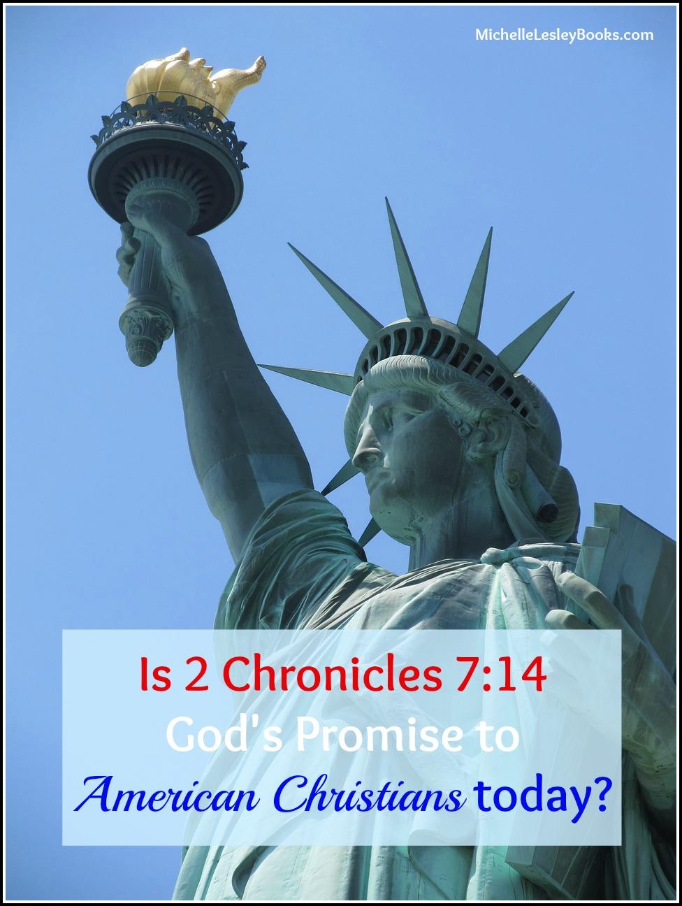 ICYWW 2 Chron 7 14