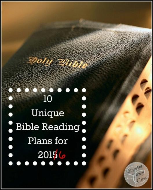 2016 bible reading
