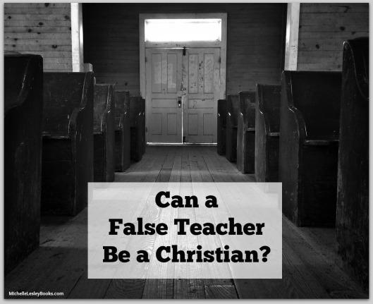 false teacher christian
