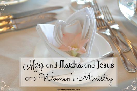 mary martha jesus womens ministry