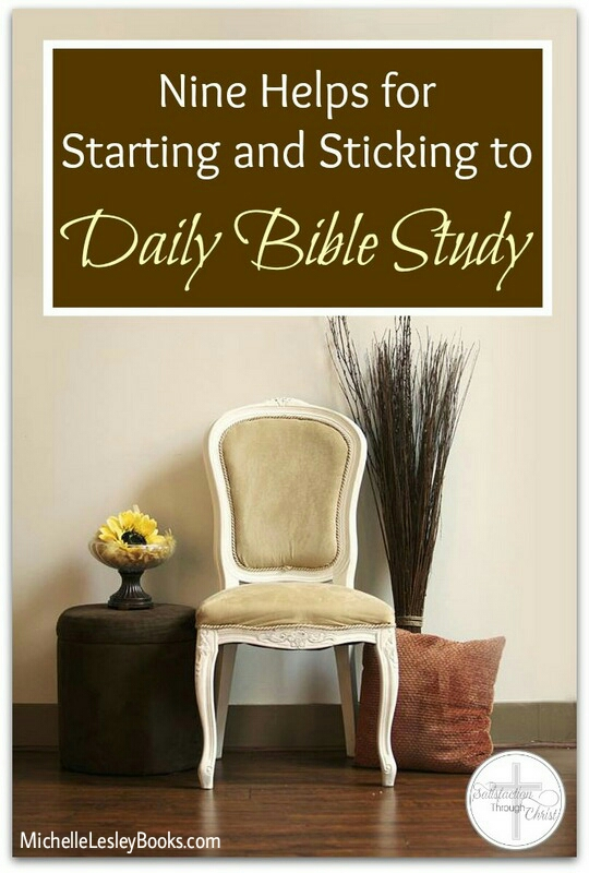 9 helps daily bible study