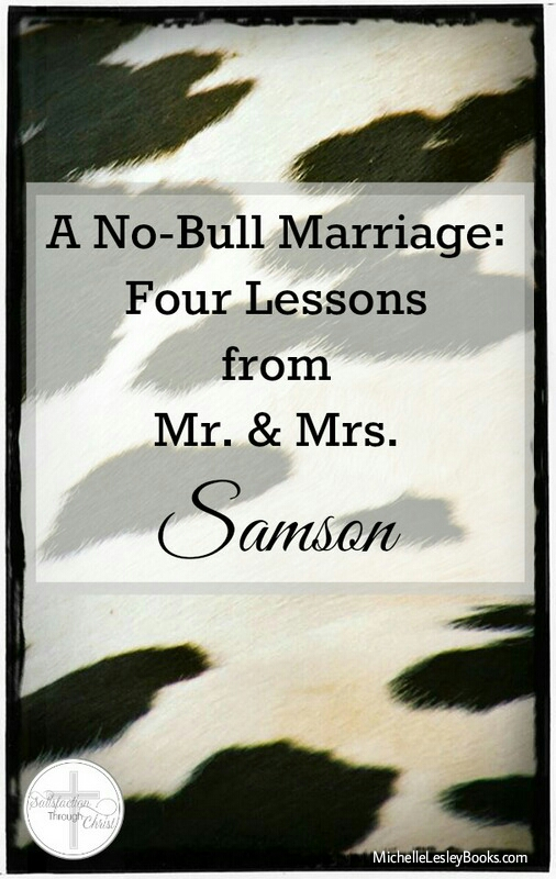 no bull marriage samson